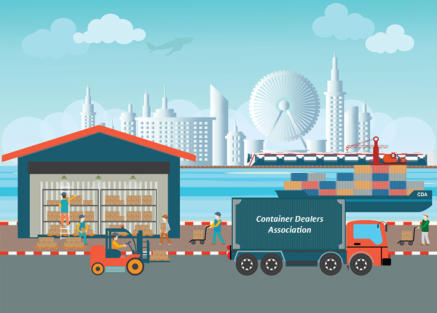 Globalization and efficient transport and delivery of shipping containers.